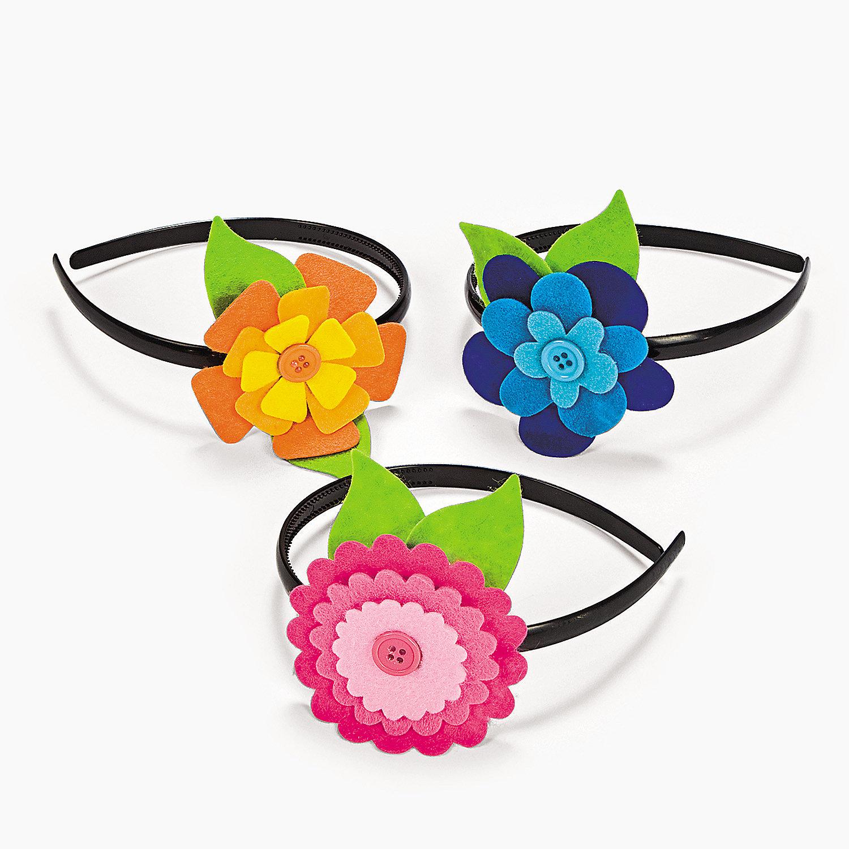 flower headband craft kit oriental trading discontinued