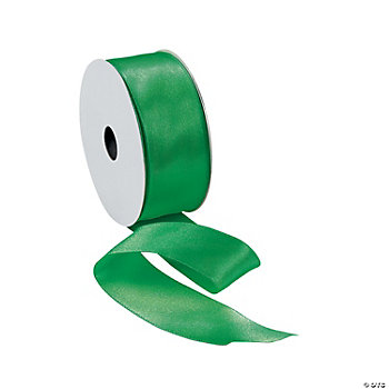 Green Wired Ribbon