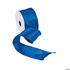 Royal Blue Wired Ribbon