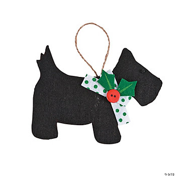 Scottie Dog Ornament Craft Kit
