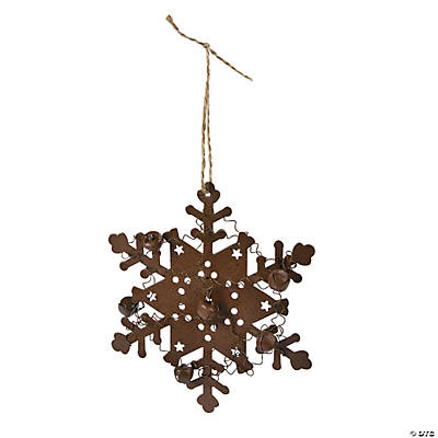 Snowflake with Jingle Bell Ornament Craft Kit