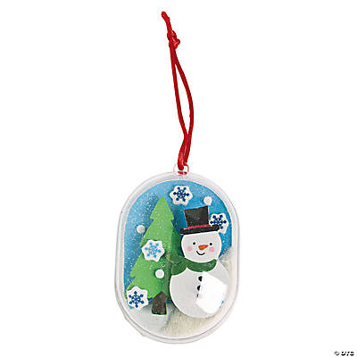 Christmas Clear Ornament Craft Kit