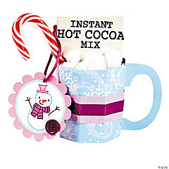 Snowman Soup Treat Holder Craft Kit