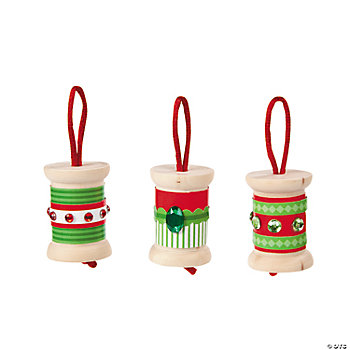 Wood Spool Ornament Craft Kit