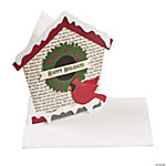 Christmas Birdhouse Card Craft Kit