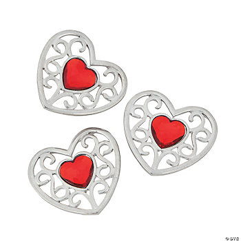 Heart Candle Embellishments