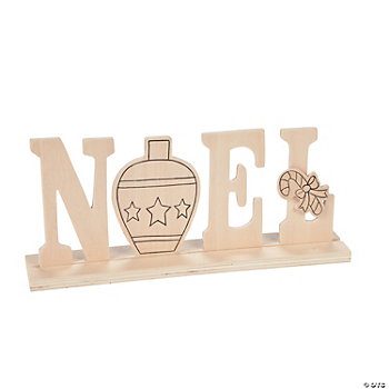 "Color Your Own ""Noel"" Sign"