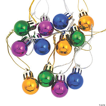 Mini Round Ornaments