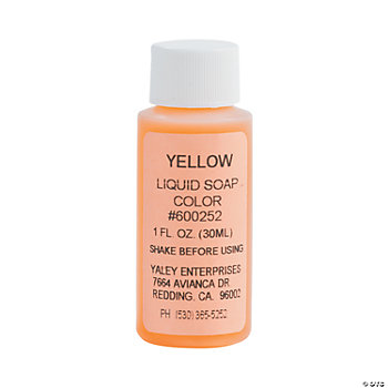 Soapsations® Yellow Soap Dye