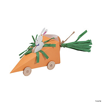 Easter Carrot Car Treat Holder Kit