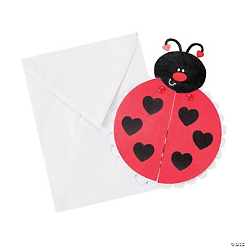 Love Bug Valentine Cards Craft Kit