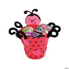 Valentine Ladybug Treat Cup Craft Kit