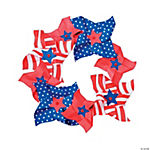 Patriotic Pinwheel Wreath Craft Kit