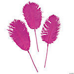 Hot Pink Ostrich Feathers