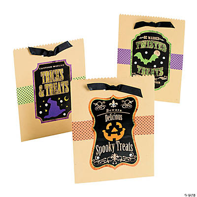 Spider Treat Sacks Craft Kit