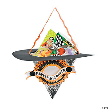 Witches Hat Treat Holder Craft Kit