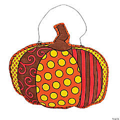 Pumpkin Door Hanger Craft Kit