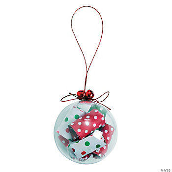 Rolled Up Paper Christmas Ornament Craft Kit