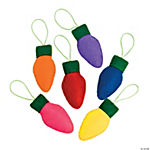 Christmas Light Ornament Craft Kit