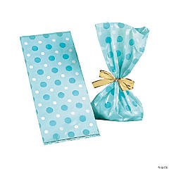 Blue Baby Boy Treat Bags
