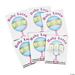 Cardboard Baby Shower Pickle Cards