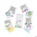Baby Shower Matchbooks With Mint