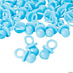 Pastel Blue Opaque Pacifier Favors
