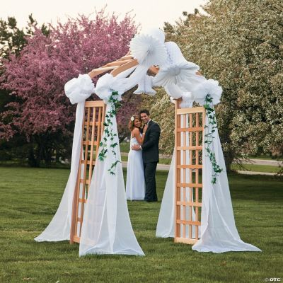 Wedding Canopy with Bells & Ivy Strings