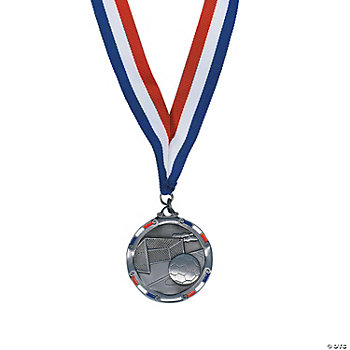 Personalized Antiqued Soccer Medal
