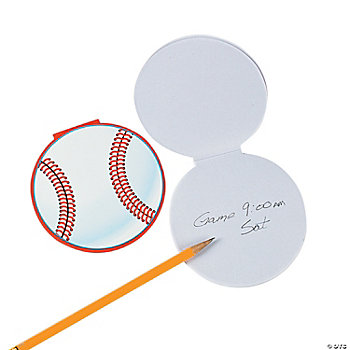 Baseball Notepads