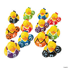 Cheerleader Rubber Duckies Assortment
