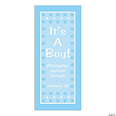 "Personalized ""It's A Boy"" Door Cover"