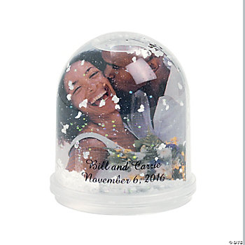 Personalized Photo Frame Globes