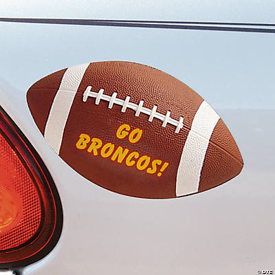 Football Personalized Car Magnets