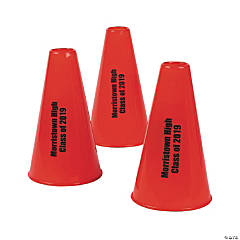 Red Personalized Megaphones