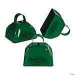 Personalized Green Cowbells