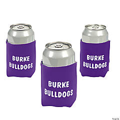 Personalized Purple Can Covers