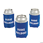 Personalized Blue Can Covers