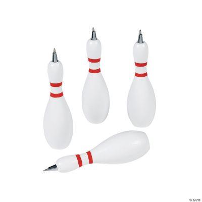Bowling Pin-Shaped Pens