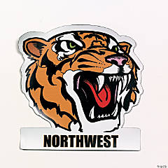 Personalized Tigers Mascot Car Magnets