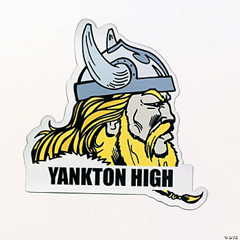 Personalized Vikings Mascot Car Magnets