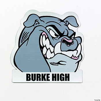 Personalized Bulldogs Mascot Car Magnets