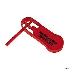 Personalized Giant Red Noisemakers