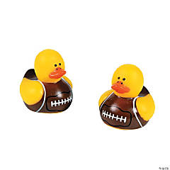 Mini Football Rubber Duckies