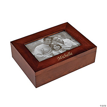 Personalized Photo Frame Jewelry Box