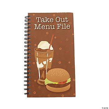 """Take Out"" Spiral Notebooks"