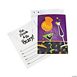 Halloween Cocktail Lenticular Invitations