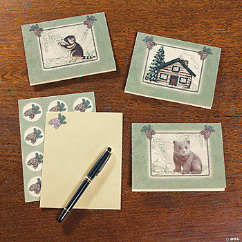 Lodge Notecards