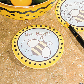 """Bee Happy"" Sticky Notes"
