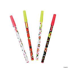 Bright Christmas Stick Pens